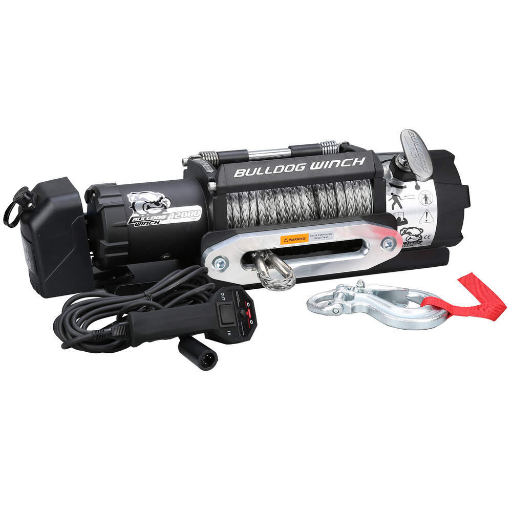 Electric Winch BDW10040 - Medium Line Speed - Bulldog Winch