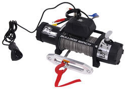Bulldog Winch Standard Series Off-Road Winch - Synthetic Rope - Hawse Fairlead - 8,000 lbs