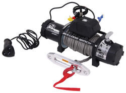 Bulldog Winch Standard Series Off-Road Winch - Synthetic Rope - Hawse Fairlead - 9,500 lbs