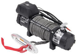 Bulldog Winch Standard Series Off-Road Winch - Synthetic Rope - Hawse Fairlead - 12,000 lbs