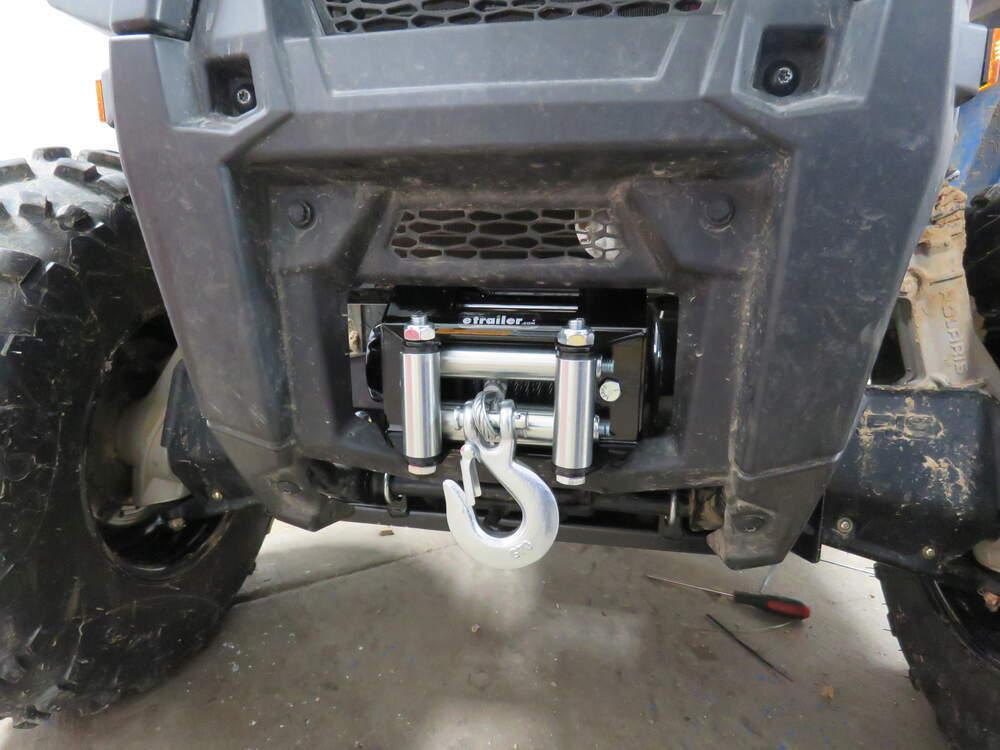 Bulldog Winch Powersports Series ATV Winch - Wire Rope - Roller