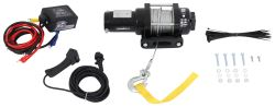 Bulldog Winch Trailer Winch - Wire Rope - Hawse Fairlead - 3,400 lbs