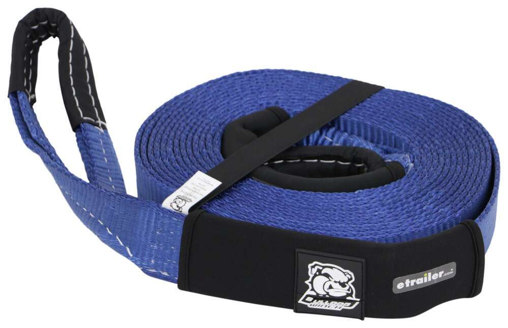 BDW20014 - Polyester Bulldog Winch Recovery and Tow Straps