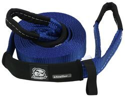 "Bulldog Winch Heavy-Duty Recovery Strap w/Reinforced Loop Ends - 2"" x 20' - 20,000 lbs"