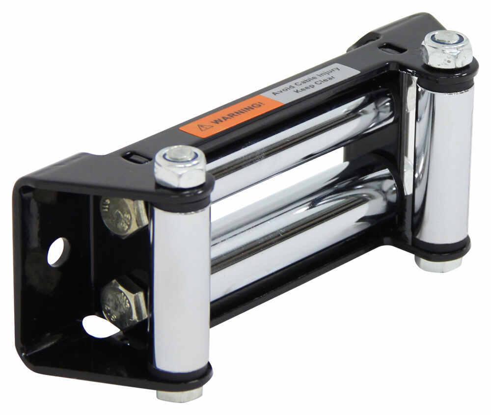 Bulldog Winch Roller Fairlead for Powersports - 165 mm Mount