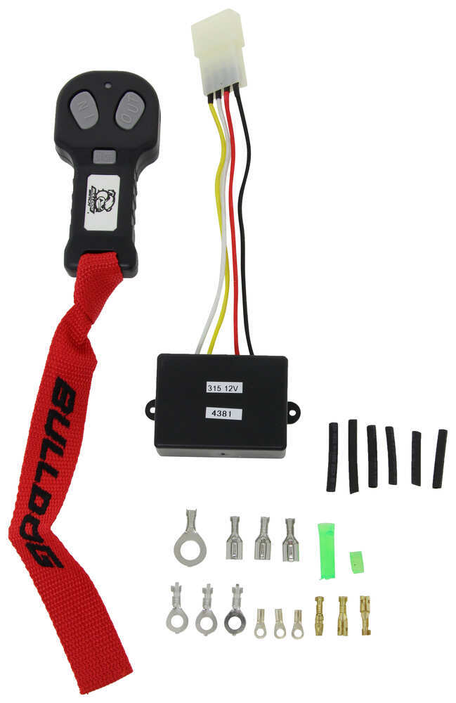 Bulldog Winch Wireless Controller - Quick-Connect Plug - 100' Electrical Components BDW20156