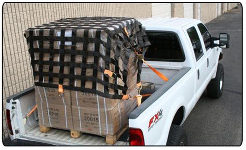 Truck Bed Cargo Net >> Bulldog Winch Cargo Net w/ Tie-Downs and D-Rings - Long ...