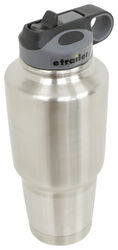 Bulldog Winch Tumbler with Flip Up Straw - Stainless Steel - 30 oz