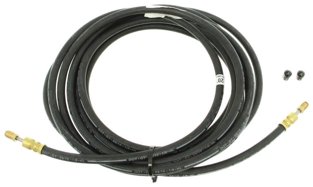 Stainless Brake Line Fittings : Kodiak hydraulic brake hose quot male fittings w