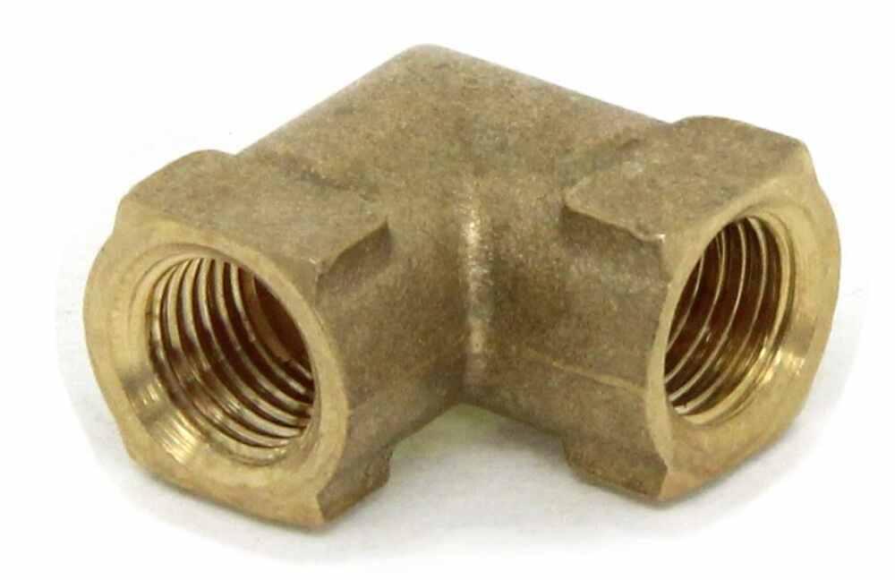 Kodiak elbow fitting for hydraulic brake hose brass