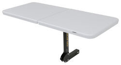 "Boone Outdoor Hardware Tailgate Table with Free Cover for 2"" Trailer Hitches"