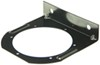 "Trailer Light Mounting Bracket for 4"" Trailer Lights, Steel - Black Powder Coat 4 Inch Diameter BK45BB"