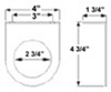 Optronics Mount Parts Accessories and Parts - BK55BB