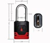 "BOLT Covered Padlock - 2"" Shackle - Codes to Late Model GM Key Steel BL7018518"