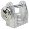 "EZ Lock Trailer Coupler Lock for 1-7/8"", 2"", 2-5/16"" Bulldog Collar-Lok Couplers"