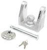 """EZ Lock Trailer Coupler Lock for 1-7/8"""", 2"""", 2-5/16"""" Bulldog Collar-Lok Couplers Fits 1-7/8 Inch Ball,Fits 2 Inch Ball,Fits 2-5/16 Inch"""