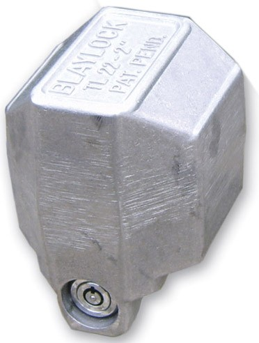 "Blaylock Total-Encasement Coupler Lock for 2"" Bulldog Collar-Lok Couplers - Push Button Fits 2 Inch Ball BLTL-22"