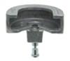 "Blaylock EZ Lock Trailer Coupler Lock for 2-5/16"" Lipped Couplers - Aluminum - Push Button Fits 2-5/16 Inch Ball BLTL-34"