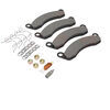 Replacement Brake Pads for Dexter Disc Brakes - 10,000 lbs and 12,000 lbs - Semi-Metallic - Qty 4