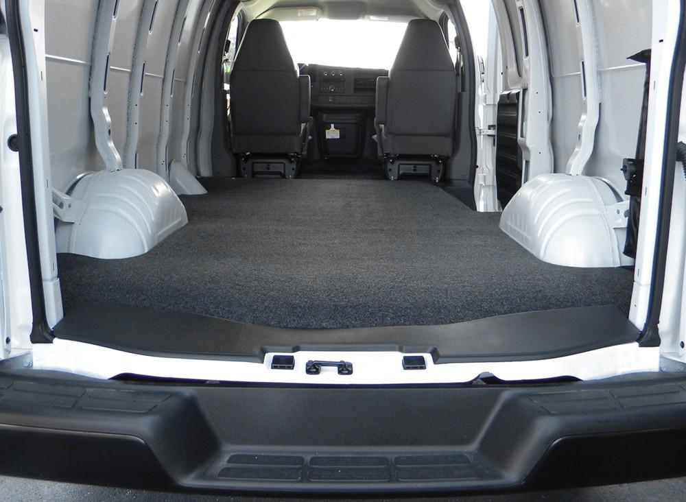 2013 Chevrolet Express Van Vanrug Custom Floor Mat For