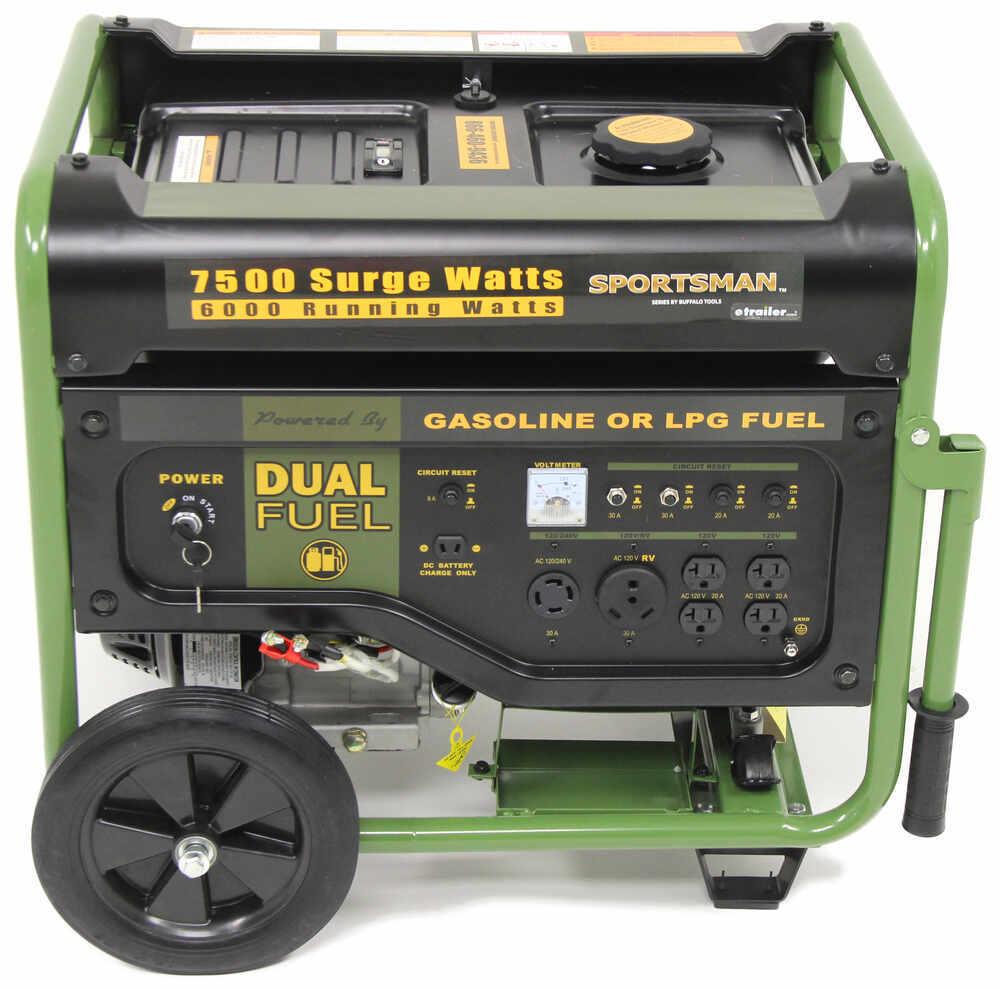 Compare Buffalo Tools 4000 Watt Vs 7500 Wiring Diagram For Onan Generator Generators Btgen7500df