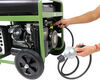 Buffalo Tools 7,500-Watt Generator - 6,000 Running Watts - Dual Fuel - Electric Start Recoil Start,Electric Start BTGEN7500DF