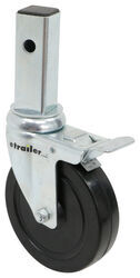 "Replacement Swivel Caster for Buffalo Tools Multi-Use Scaffold - Rubber - 5"" - 250 lbs - BTGSSI-C5"