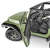 BedTred Custom Jeep Replacement Floor Liner w/ Heat Shielding - Front and Rear Floorboards - Rubber