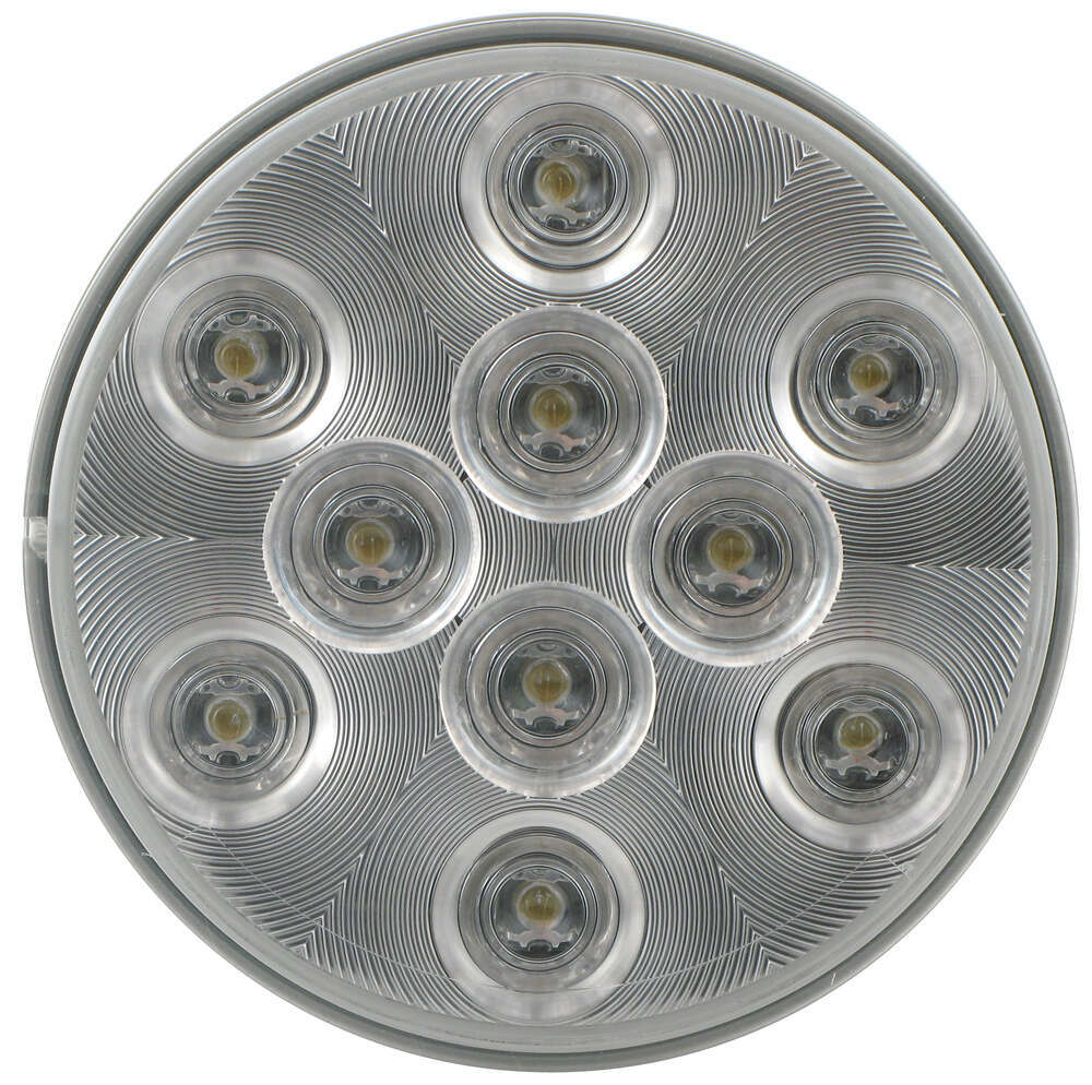 Optronics White Trailer Lights - BUL43CB
