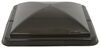 Vent Cover for Ventline Old-Style Rounded Dome Trailer Roof Vents - Smoke 14W x 14L Inch BV0554-03