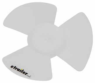 Replacement fan blade for ventline bathroom ceiling vents for 6 bathroom roof vent