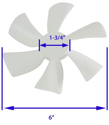 bvd0215 00_17_500 replacement fan blade for ventline ventadome trailer roof vents ventline northern breeze wiring diagram at edmiracle.co