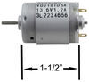 Replacement 12-Volt DC Fan Motor for Ventline RV Range Hood Motor BVD0218-00-R