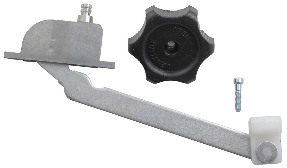 Replacement Operator, Knob and Screw for Ventline Ventadome Trailer Roof Vents w/ Wedge-Shaped Dome Operator Parts BVD0462-00