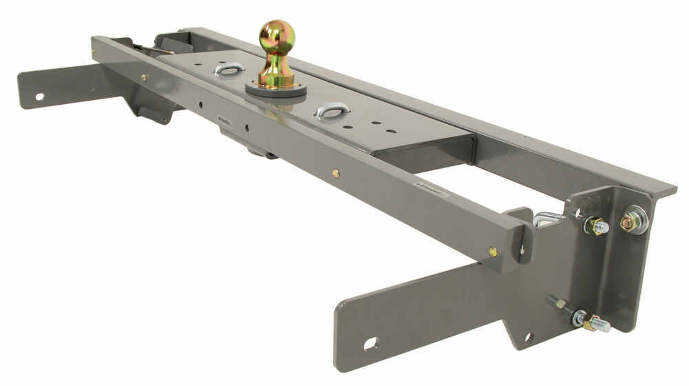 B&W Turnoverball Underbed Gooseneck Trailer Hitch w/ Custom Installation Kit - 30,000 lbs 2-5/16 Hitch Ball BWGNRK1057