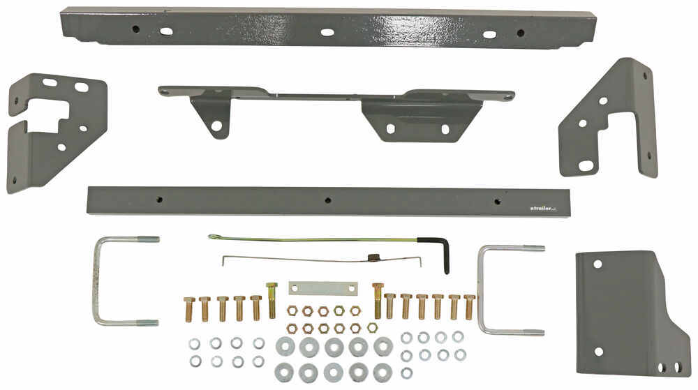 B&W Turnoverball Gooseneck Custom Installation Kit for Ram 1500 Below the Bed BWGNRM1319