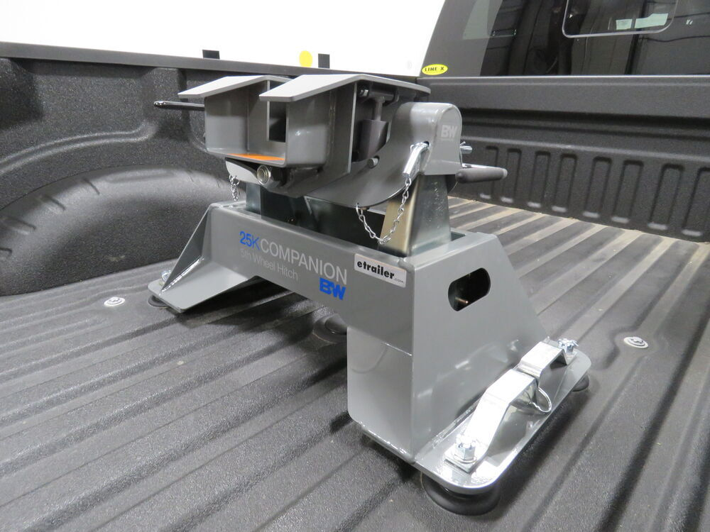 B&W Companion OEM 5th Wheel Hitch for Ford Super Duty Prep Package