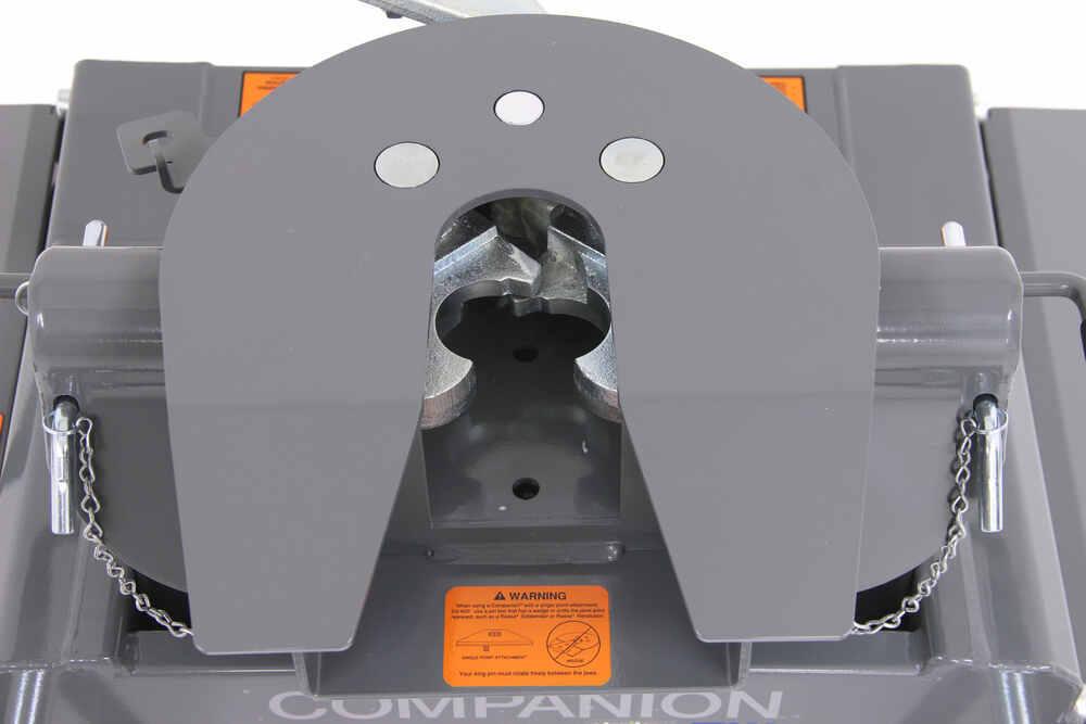 B&W Companion 5th Wheel Trailer Hitch w/ Slider - Dual Jaw