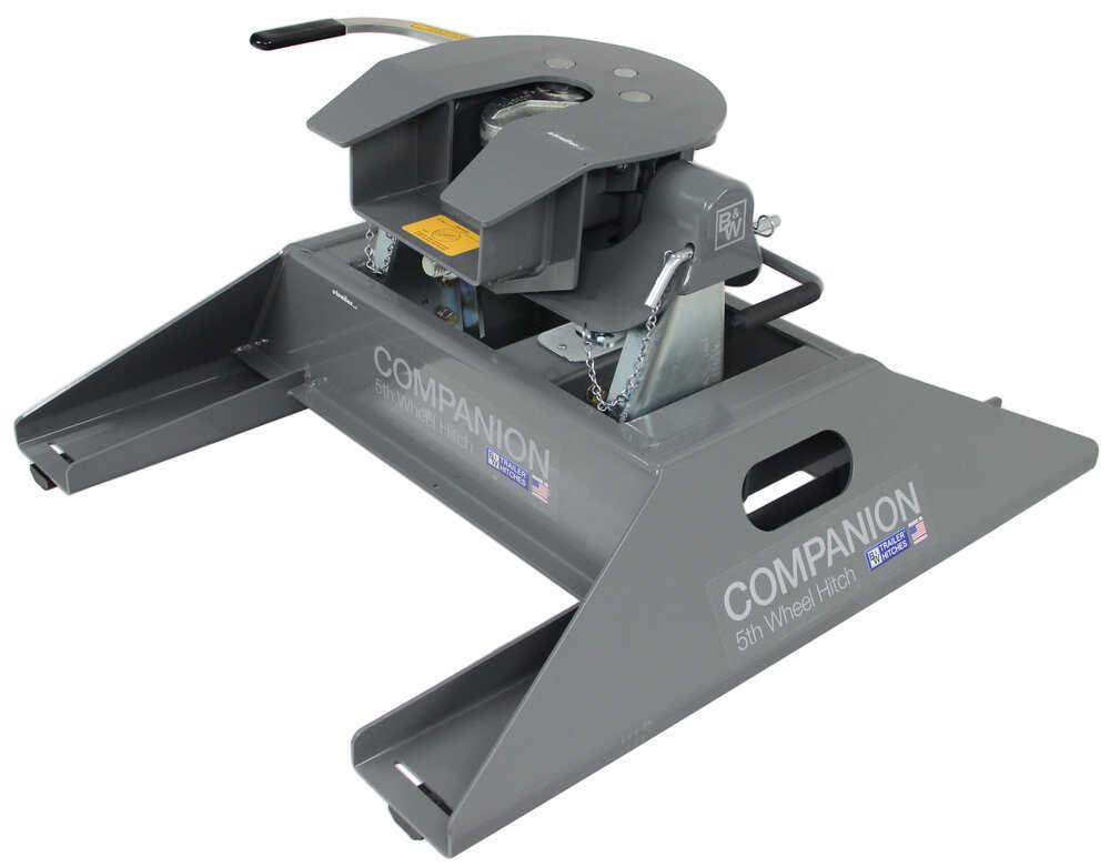 B&W Companion Gooseneck-to-5th-Wheel Trailer Hitch Adapter