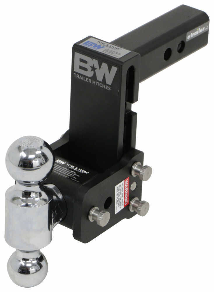 BWTS10037B - Steel Shank B and W Adjustable Ball Mount