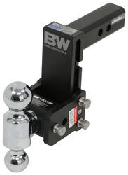 "B&W Tow & Stow 2-Ball Mount - 2"" Hitch - 5"" Drop, 5-1/2"" Rise - 10K - Black"
