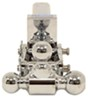 b and w ball mounts adjustable mount drop - 3 inch rise b&w tow & stow 3-ball 2 hitch 3-1/2 10k chrome