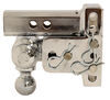 b and w ball mounts adjustable mount class iv 10000 lbs gtw b&w tow & stow 3-ball - 2 inch hitch 3 drop 3-1/2 rise 10k chrome