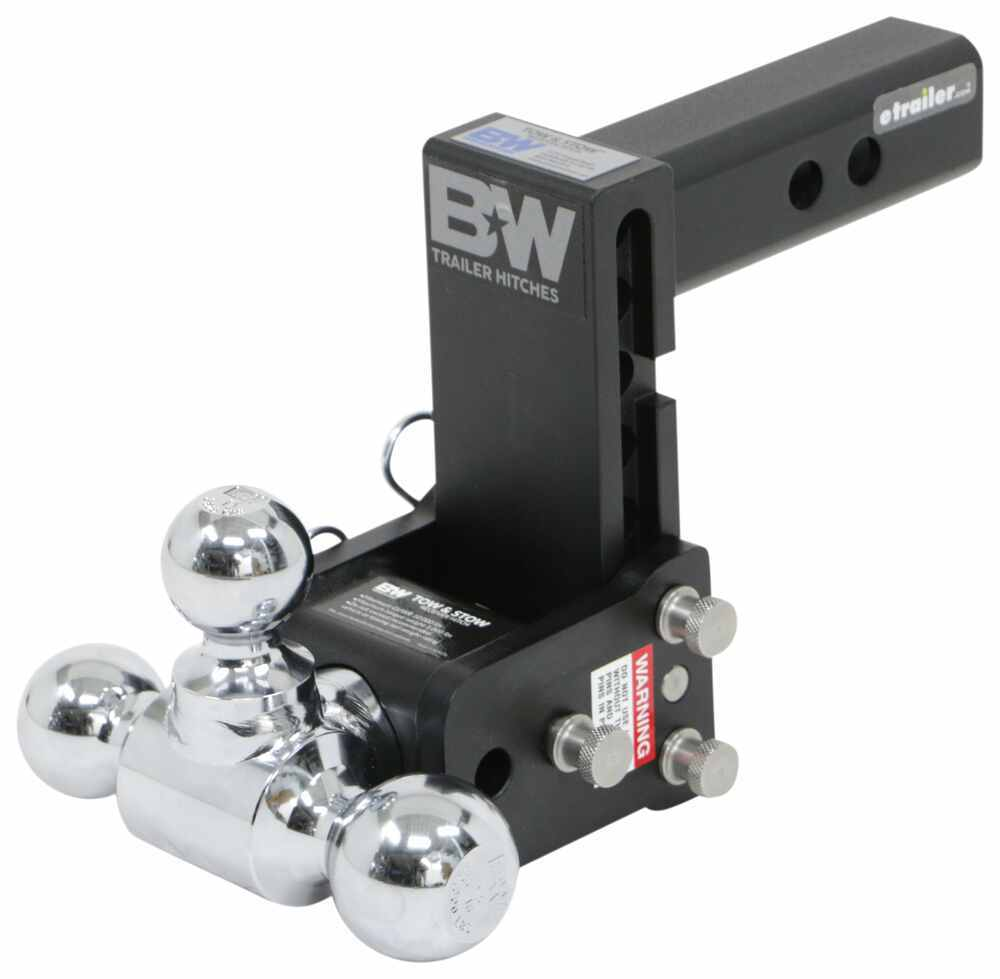 Ball Mounts BWTS10048B - Class IV,10000 lbs GTW - B and W