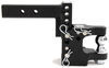 "B&W Tow & Stow Pintle Hook with 2"" Ball - 2"" Hitches - 10,000 lbs/16,000 lbs One Ball BWTS10055"