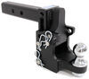 BWTS10055 - Built-In Pintle Hook,Long Shank B and W Adjustable Ball Mount