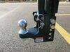 0  trailer hitch ball mount b and w one drop - 8 inch rise 6 bwts10055