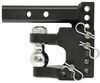 "B&W Tow & Stow Pintle Hook with 2-5/16"" Ball - 2"" Hitches - 10,000 lbs/16,000 lbs Steel Ball BWTS10056"