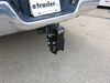0  ball mounts b and w adjustable mount drop - 8 inch rise 6 b&w tow & stow pintle hook with 2-5/16 2 hitches 10 000 lbs/16 lbs