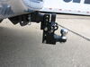 0  ball mounts b and w adjustable mount 16000 lbs gtw b&w tow & stow pintle hook with 2-5/16 inch - 2 hitches 10 000 lbs/16